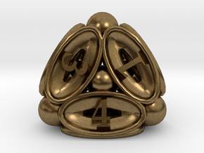 Spore d4 in Natural Bronze