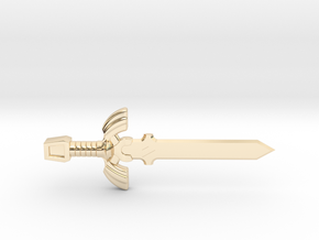 Master Sword in 14K Yellow Gold