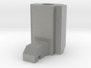 Spektrum DX6i replacement throttle spring hook in Metallic Plastic