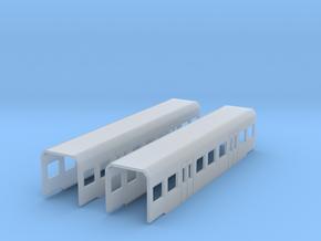 BR 425 Zwischenwagen 1:220 Spur Z in Smooth Fine Detail Plastic