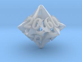 Pinwheel Decader d10 in Smooth Fine Detail Plastic