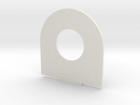 u2 in White Natural Versatile Plastic