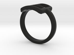 Neda''s Ring in Black Strong & Flexible