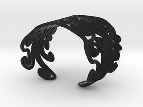 octopus M in Black Natural Versatile Plastic