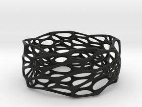 Interstice Bracelet in Black Strong & Flexible
