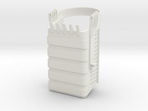 dragline bucket in White Natural Versatile Plastic