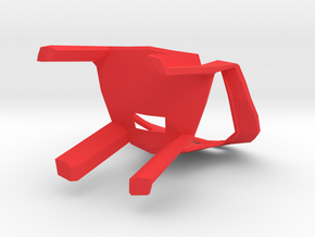 Plastic Seats in Red Processed Versatile Plastic