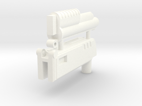 Ratchetrooper Weapon H02 - Shotgun in White Processed Versatile Plastic