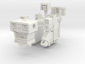 Motor Commander in White Strong & Flexible