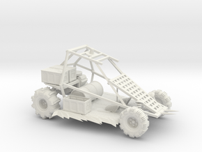 Gwardar MG Buggy in White Natural Versatile Plastic