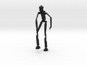 Robotman 15cm in Black Strong & Flexible