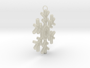 Personalized Snowflake in Transparent Acrylic