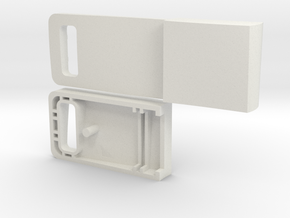 Usb Drive Case in White Strong & Flexible