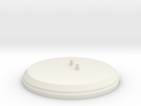 "Figurine ""Hana"" (Stand) in White Natural Versatile Plastic"