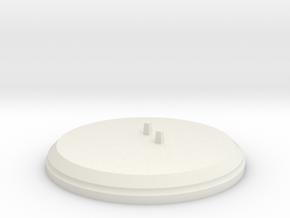 "Figurine ""Hana"" (Stand) in White Natural Versatile Plastic"
