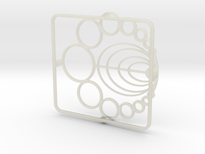 Burner Grate in Transparent Acrylic