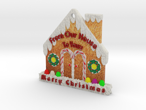 Gingerbread House  in Full Color Sandstone