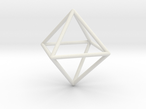 Octahedron in 14K Yellow Gold