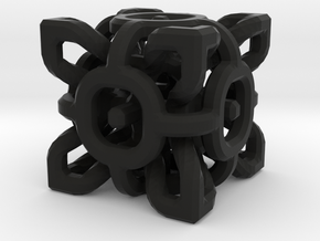 Complex Cube 2cm in Black Strong & Flexible