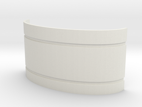 Mekki-Maru Scabbard Collar in White Strong & Flexible