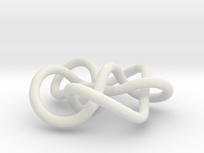 Prime Knot 7.7 in White Natural Versatile Plastic
