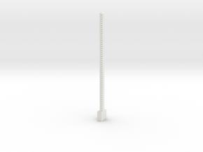 Small Ammo Belt in White Natural Versatile Plastic