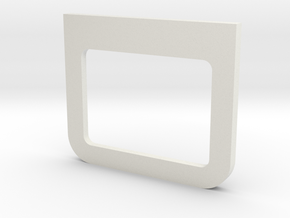 Hatch Base in White Natural Versatile Plastic