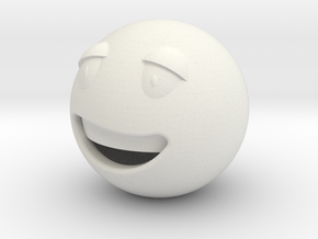 Smile3 in White Natural Versatile Plastic