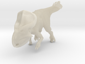 Protoceratops Quilled (1:12 scale model) in White Acrylic