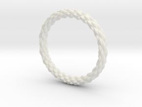 Wavelet in White Natural Versatile Plastic