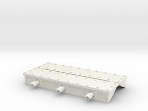 W4K01 Gunport Covers in White Natural Versatile Plastic
