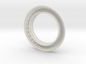 Serenade Ring 1 in White Natural Versatile Plastic