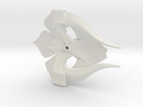Nautilus dreadnaught scaled in White Natural Versatile Plastic
