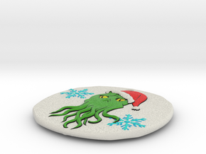 Cthulhumas Ornament in Full Color Sandstone
