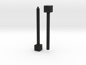 1x1x∞ (Print 1) in Black Strong & Flexible