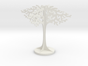 Imogen Heap Tree in White Natural Versatile Plastic