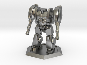 Mecha- Hunter (1/500th) in Natural Silver