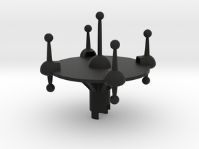 B.Y.O.S.S. Platform in Black Strong & Flexible