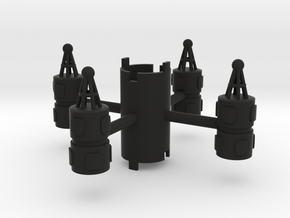 B.Y.O.S.S. 4 Cylinders Vertical in Black Strong & Flexible
