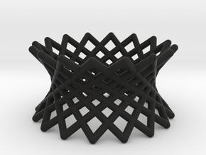 040: ruled hyperboloid in Black Strong & Flexible