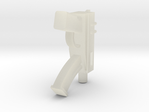 Machine Pistol in Transparent Acrylic