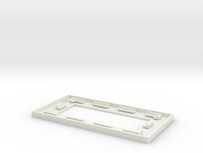 AT.Imaging.Holder.mk.4 in White Natural Versatile Plastic