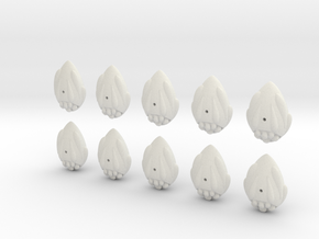 easter egg fleet set in White Strong & Flexible