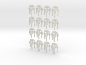 havoc small fleet set in White Natural Versatile Plastic