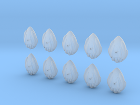 easter egg fleet set in Smooth Fine Detail Plastic