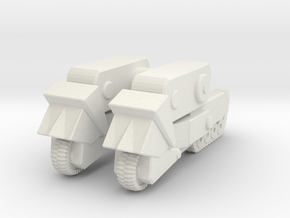 AWA mech legs driving mode in White Natural Versatile Plastic