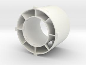 swirler_v3_04 in White Natural Versatile Plastic