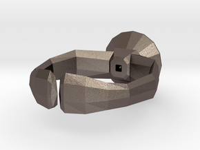 """""""Lowpoly"""" ring in Stainless Steel"""
