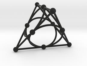 002: Desargues Configuration in Black Strong & Flexible