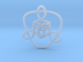 Celtic Knots 01 (small) in Smooth Fine Detail Plastic